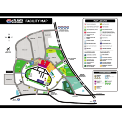 Maps | Fans | Atlanta Motor Speedway