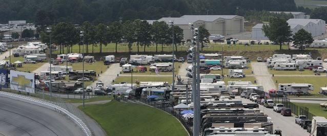 Trackside Camping Nascar Atlanta Motor Speedway