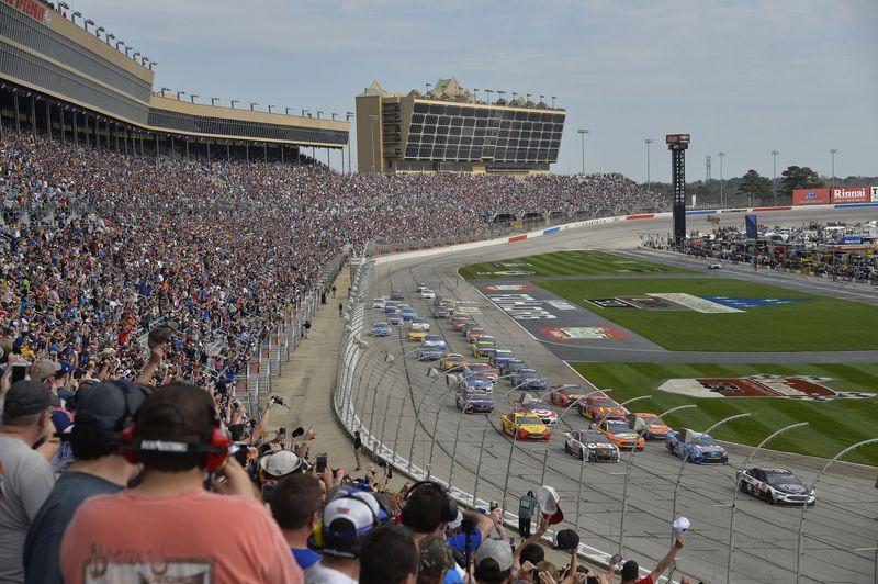 Atlanta Motor Speedway Nominated For Best Nascar Track In