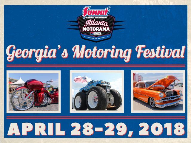 Summit Racing Equipment Atlanta Motorama Events