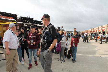 NASCAR garage