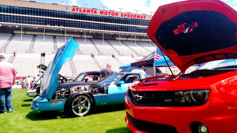 Summit Racing Christmas Car Show 2021 Ams Concludes Day 1 Of 5th Annual Summit Racing Equipment Atlanta Motorama News Media Atlanta Motor Speedway