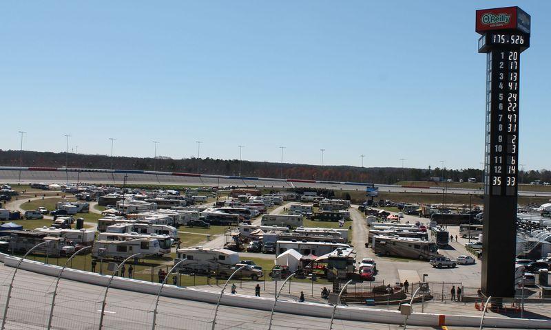 Texas motor speedway camping hookups