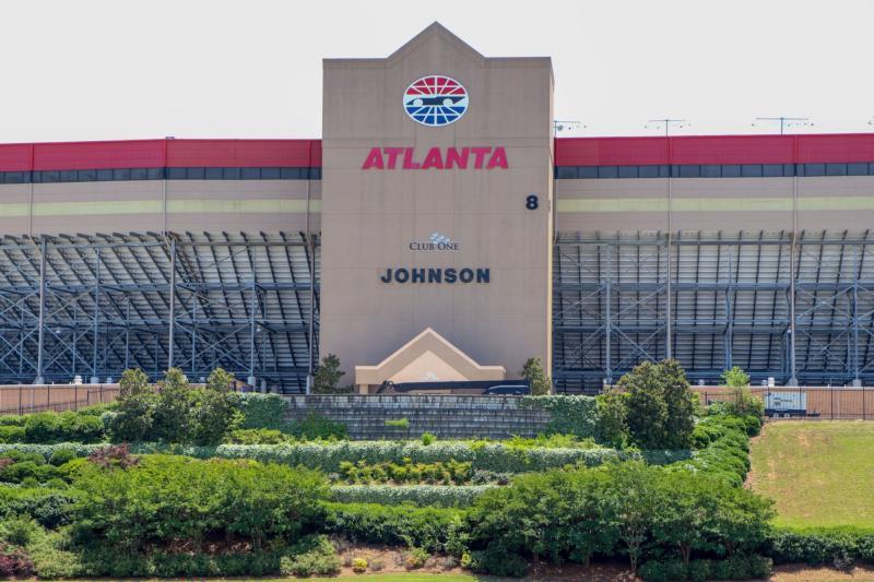 Johnson Grandstand