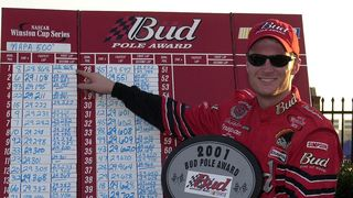 Earnhardt Jr. took home to pole award in November of 2001 at Atlanta.