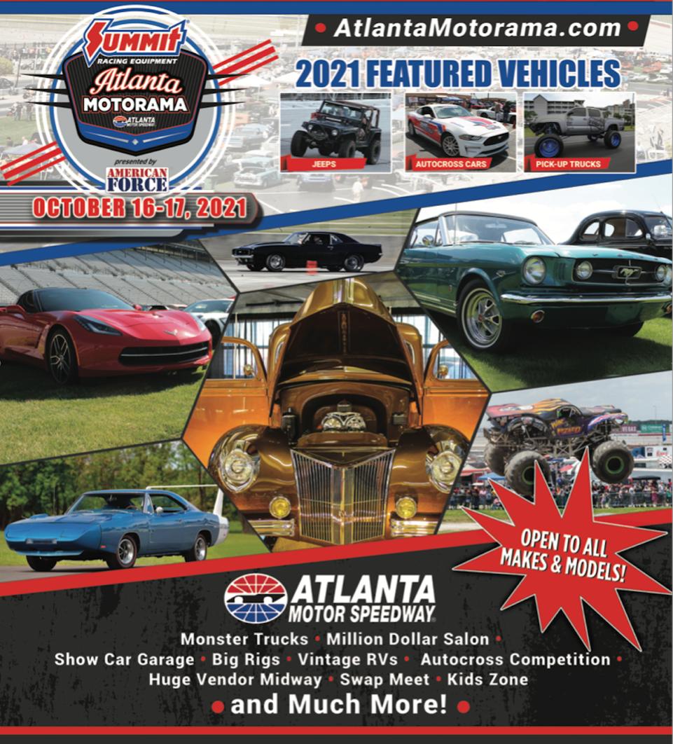 Atlanta Motorama Car Show in McDonough Georgia