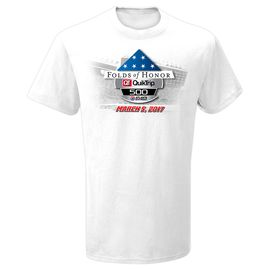 Atlanta Motor Speedway Folds of Honor 500 Event Tee
