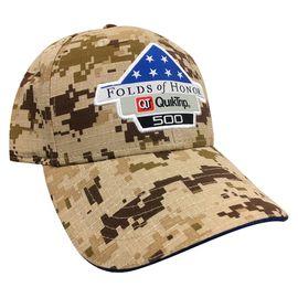 Folds of Honor QuikTrip 500 Camo Event Hat
